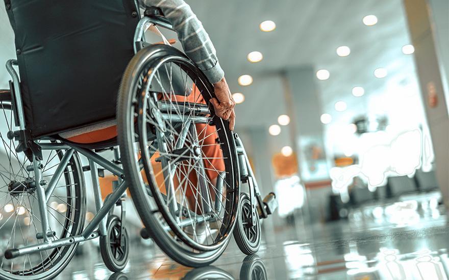rehabilitacyjny wózek